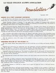 Alumni Association Newsletter: September 1966 by La Salle University