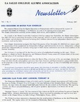 Alumni Association Newsletter: February 1967 by La Salle University