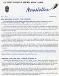 Alumni Association Newsletter: February 1967