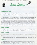 Alumni Association Newsletter: April 1967