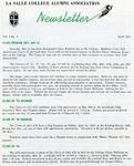 Alumni Association Newsletter: April 1967