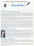 Alumni Association Newsletter: April 1968 by La Salle University