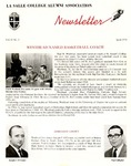 Alumni Association Newsletter: April 1970 by La Salle University