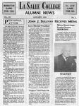 Alumni News: January 1949 by La Salle University