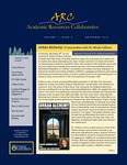 ARC Newsletter Volume 1, Issue 2 by Tara Carr-Lemke MA, Whitney Howell PhD, Melinda Ingersoll MA, Jaime Longo PhD, and Maureen O'Connell PhD