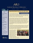 ARC Newsletter Volume 1, Issue 4 by Rosemary Barbera PhD, Eithne Bearden, Phenix Frazier Badmus, Nick Gogno, Rhonda Hazell DPM, Heather McGee PhD, and Carolyn Plump JD