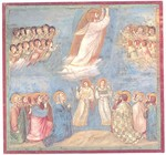 Giotto's Ascension, Scrovegni Chapel, ca. 1300