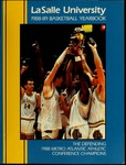 La Salle University 1988-89 Basketball Yearbook
