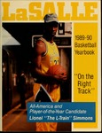 La Salle University 1989-90 Basketball Yearbook