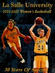 La Salle University 2001-2002 Women's Basketball by La Salle University