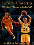 La Salle University 2001-2002 Women's Basketball