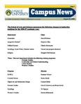 Campus News August 25, 2006