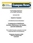 Campus News December 1, 2006
