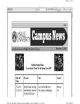 Campus News December 15, 2006