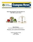 Campus News November 10, 2006