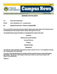 Campus News October 6, 2006