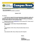 Campus News September 15, 2006