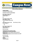 Campus News September 22, 2006