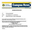 Campus News September 29, 2006