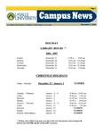 Campus News December 8, 2006