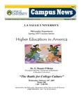 Campus News February 2, 2007