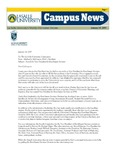 Campus News January 19, 2007