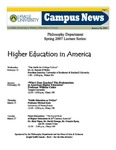 Campus News January 29, 2007