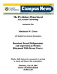 Campus News July 13, 2007