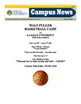 Campus News May 25, 2007