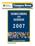 Campus News October 26, 2007