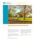 Campus News November 9, 2012