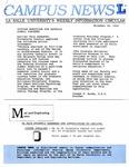 Campus News November 30, 1990