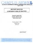 Campus News April 3, 1992