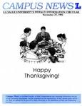 Campus News November 27, 1991