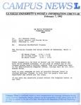 Campus News February 7, 1992