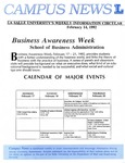 Campus News February 14, 1992