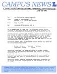 Campus News July 24, 1992