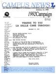 Campus News January 22, 1993