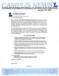 Campus News January 29, 1993