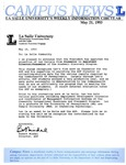 Campus News May 21, 1993
