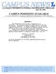 Campus News July 30, 1993