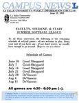 Campus News June 25, 1993