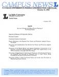 Campus News October 8, 1993