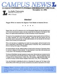 Campus News November 13, 1992