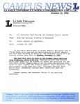 Campus News October 23, 1992