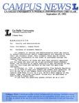 Campus News September 25, 1992