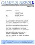 Campus News April 29, 1994