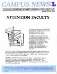 Campus News August 19, 1994