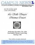 Campus News December 2, 1994