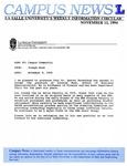 Campus News November 11, 1994
